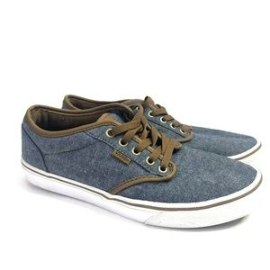 915df64dc362 Vans Era Blue Chambery Twill Rare Men s Skate